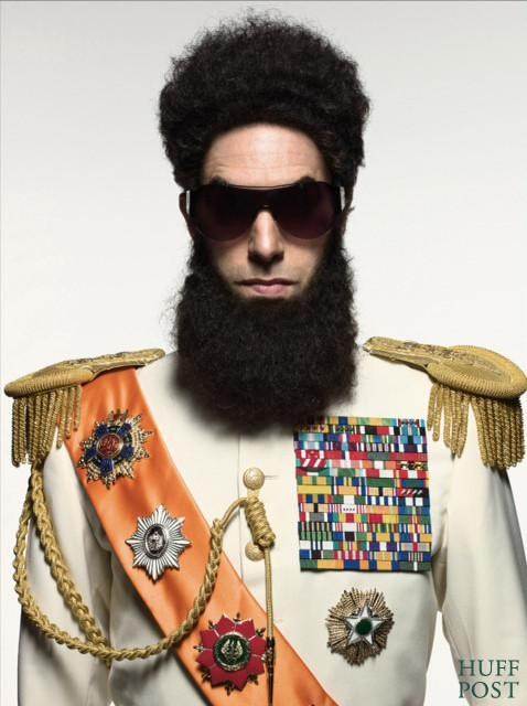 first look Larry Charles sacha baron cohen the dictator