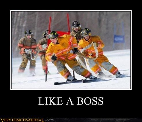 fireman,Pure Awesome,skiing,wtf