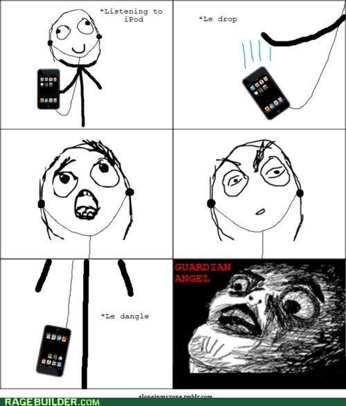 ipod jesus take the wheel Music Rage Comics - 4849942528