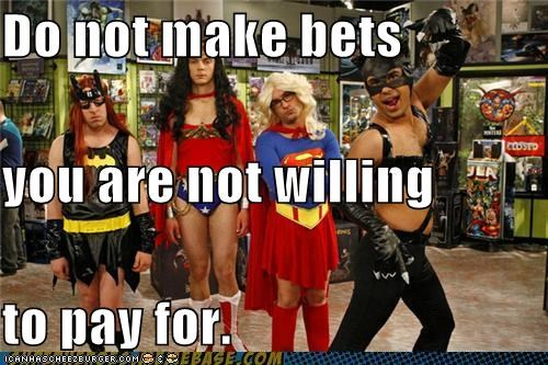 bat girl big bang theory cat woman costume cross dressing super girl Super-Lols wonderwoman