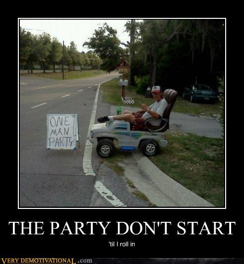 car chair hilarious one man Party wtf - 4850132224