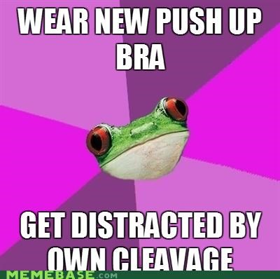 bras,foul bachelorette frog,peaks,the jigglers,valleys