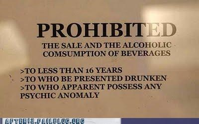 prohibition psychic signs - 4850146560