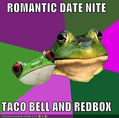 ROMANTIC DATE NITE TACO BELL AND REDBOX