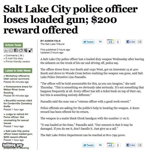 failboat g rated Probably bad News Professional At Work simpsons stupid police - 4850508544
