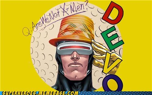 amazing Awesome Art cyclops Devo Music x men - 4850595840