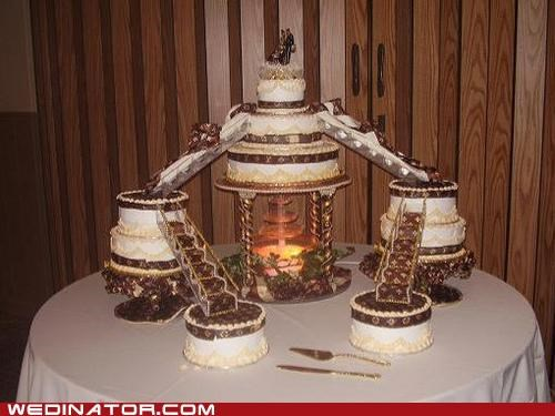 funny wedding photos Louis Vuitton wedding cake - 4850928896
