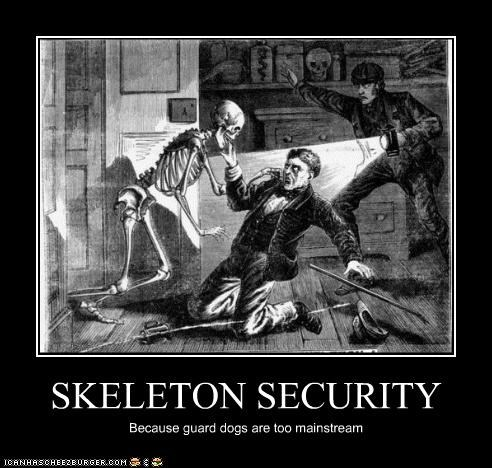art creepy demotivational funny illustration skeleton - 4851286528
