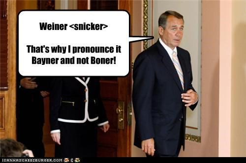Anthony Weiner,john boehner,political pictures