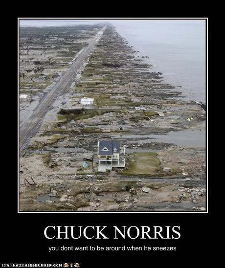 chuck norris natural disaster political pictures - 4852144896