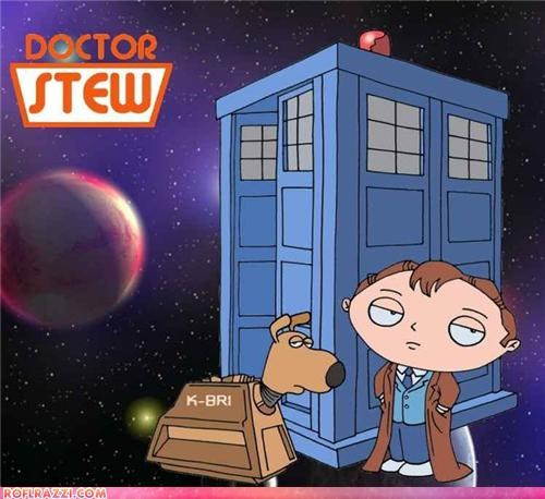art doctor who family guy funny sci fi - 4852273664
