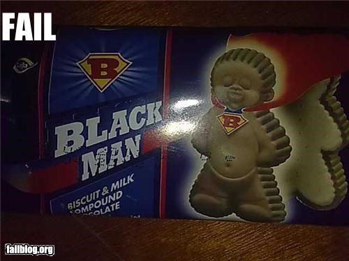 Black Man Biscuits Bought at local neighborhood shop in the suburbs of Bucharest, Romania.