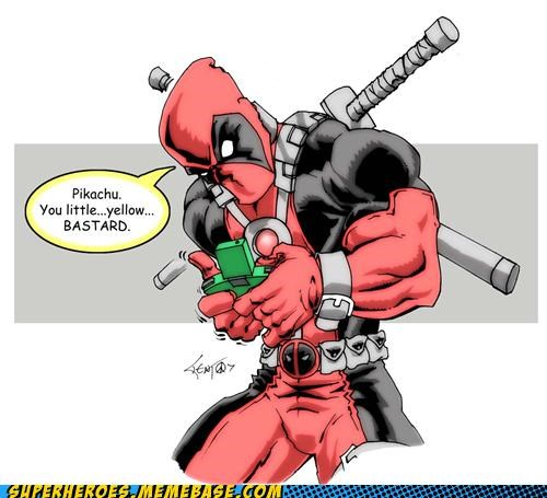 Awesome Art deadpool hilarious Pokémon - 4852407040