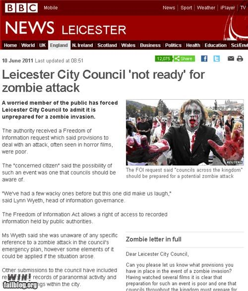 attacks completely relevant news news prepared zombie