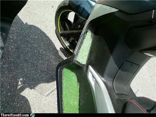 dual use grass scooter Turf - 4852587008