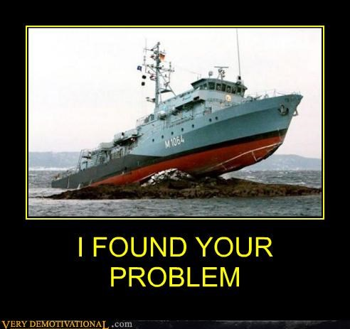 boat grounded hilarious problem wtf - 4853032960