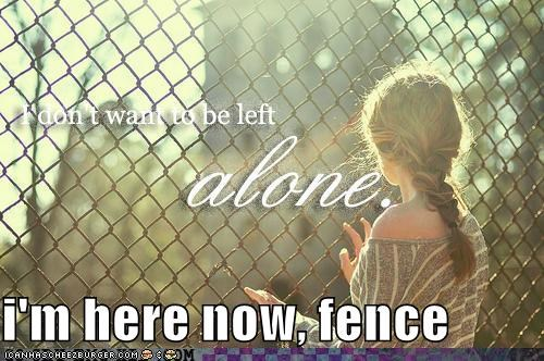 alone emolulz fence Sad - 4853058816