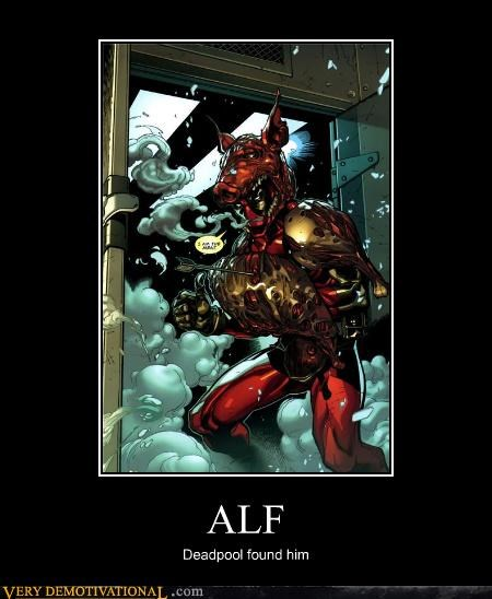 Alf awesome deadpool destroyed Super-Lols - 4853081856