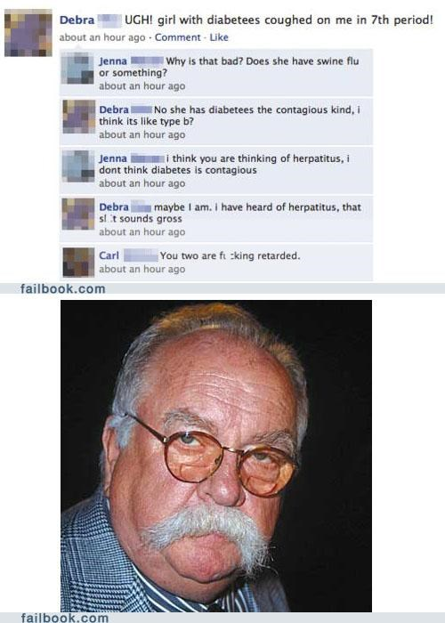 diabetes facepalm thats-not-how-that-works wilford brimley