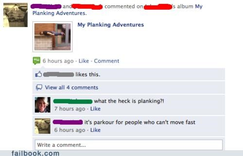 oh snap parkour Photo Planking - 4853214976