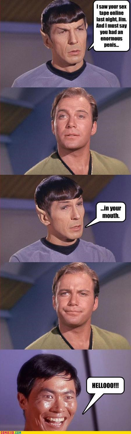 bj gay joke george tekei Star Trek TV - 4853221120