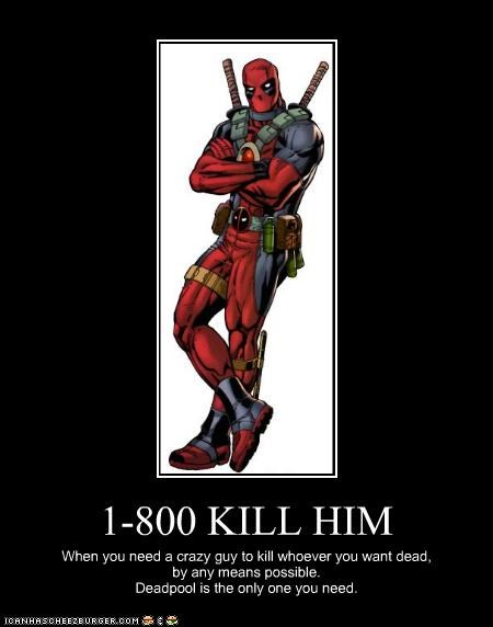 deadpool kill him marvel phone number service Super-Lols - 4853338624