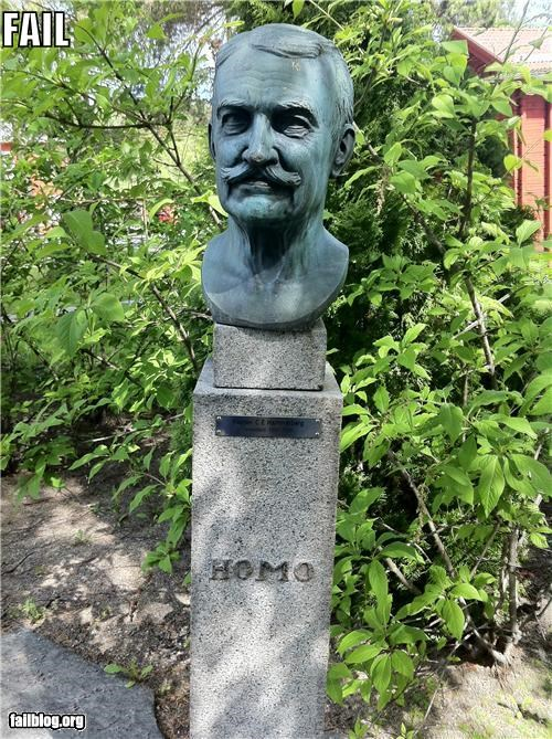 bust failboat g rated name slur statue - 4853383680