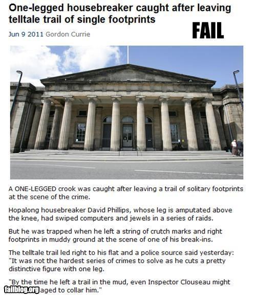 failboat g rated one leg Probably bad News stupid criminal - 4853580800