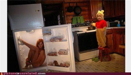 fridge kid ladie sexy wtf - 4853637888