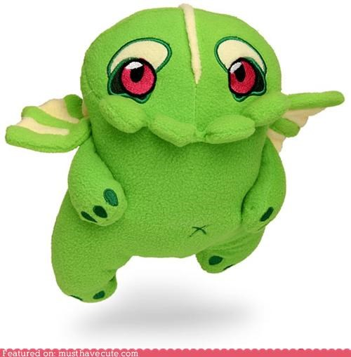 adorbz baby chtulhu green Plush - 4853645056