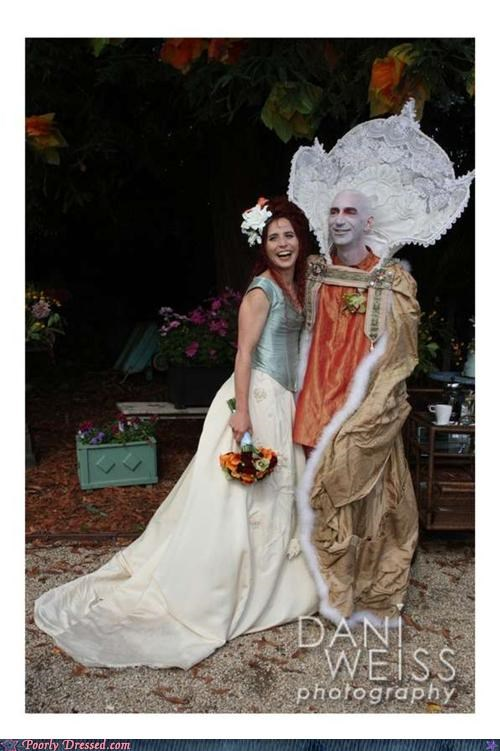 alien robe wedding - 4853745920