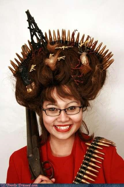 hair political Sarah Palin wig - 4853782016
