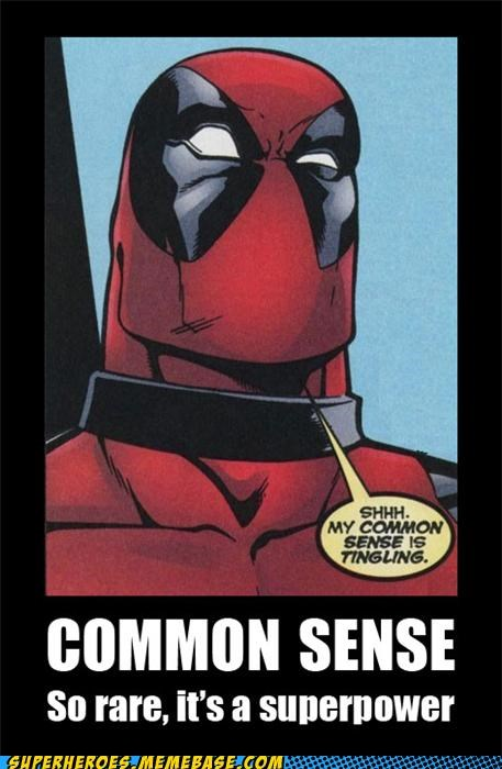 common sense deadpool Super-Lols superpower - 4854141184