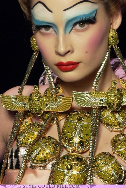 cool accessories,gold,john galliano,necklaces