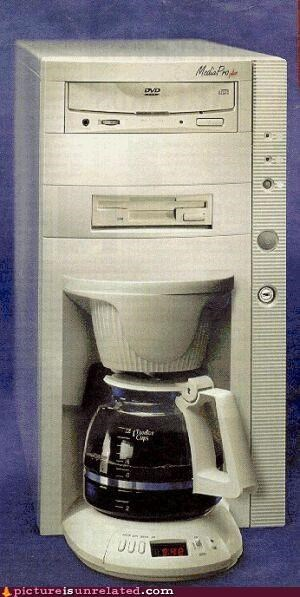 coffee computer DVD good idea machine wtf - 4855827968