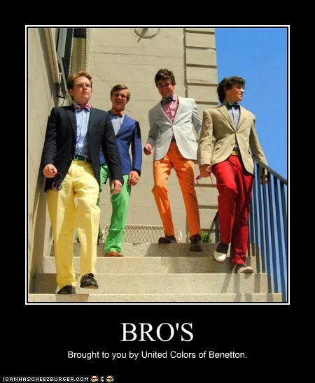 BRO'S Brought to you by United Colors of Benetton.