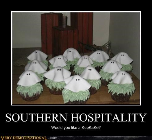cupcakes,food,hilarious,kkk,the south,wtf