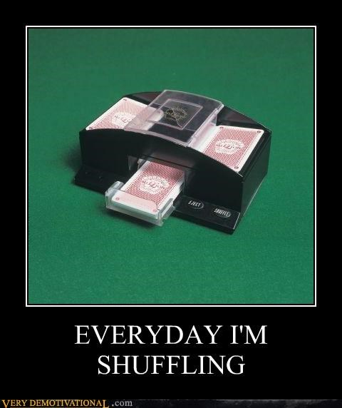 cards,deck,hilarious,machine,shuffling