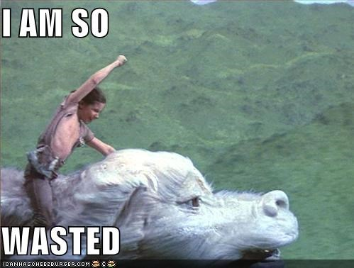 Atreyu,falcor,funny,Movie,the neverending story