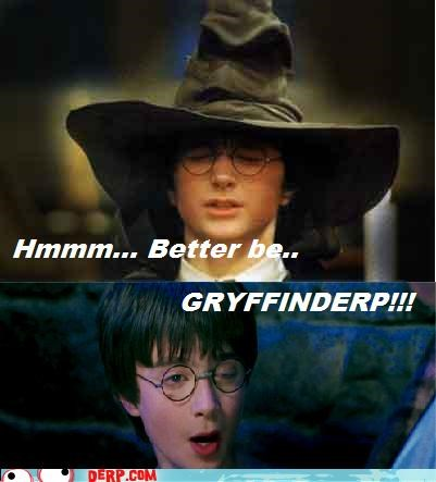 gryffindor Harry Potter Movies and Telederp sorting hat - 4858459136