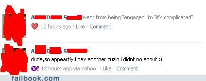 carolina,the south,cousins,failbook,g rated