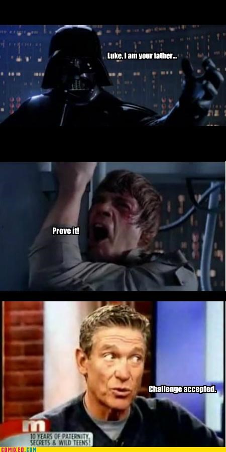 Father,maury,paternity test,star wars