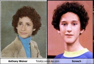 actors Anthony Weiner congressman Dustin Diamond politicians saved by the bell Screech