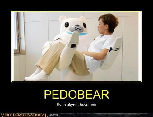 hilarious pedobear robot skynet wtf - 4860002816