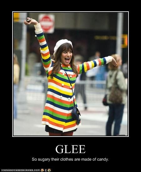 actor celeb demotivational funny glee Lea Michele - 4860129792