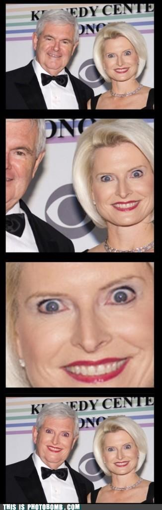 callista gingrich Celebrity Edition newt gingrich republican smile - 4860206592