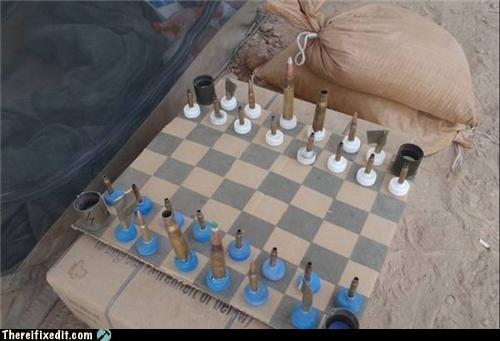 bullets chess dual use military war weapons