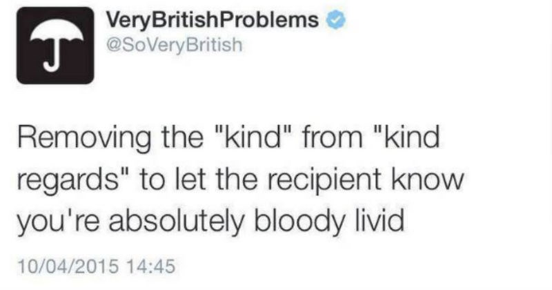 twitter english British UK passive aggressive rain - 4860933
