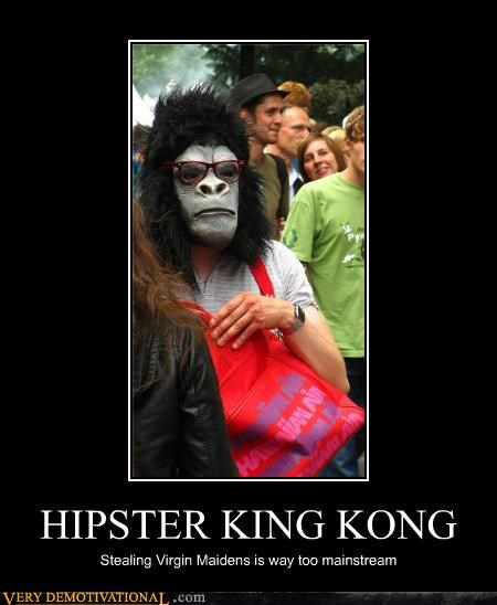 costume,hilarious,hipster,king kong,maidens