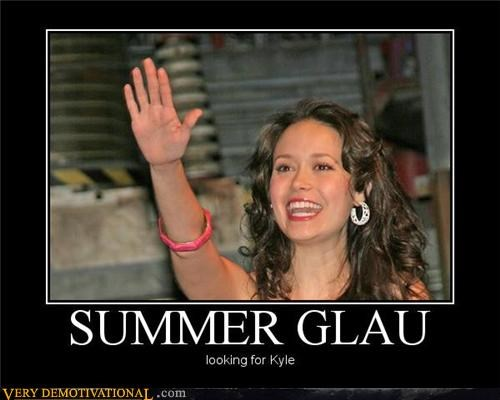 hi hilarious kyle summer glau wtf - 4861283072